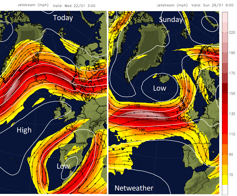 Jetstream Atlantic and UK