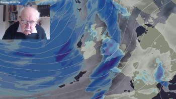 Michael Fish: Still no sign of winter proper as wind and rain make a comeback
