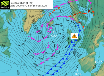 Storm Dennis timeline: A look at the warnings and impacts from the next UK February storm