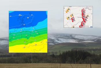 Weekend weather: Heading out with ongoing flood risk, more rain, gusty winds, hill snow and the Rugby