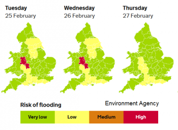 Severe flood risk on River Severn continues. What about the future for the UK with climate change?