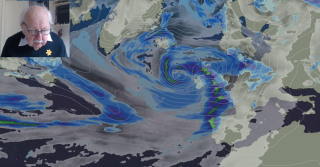 Michael Fish: Here we go again - Storm Jorge this time