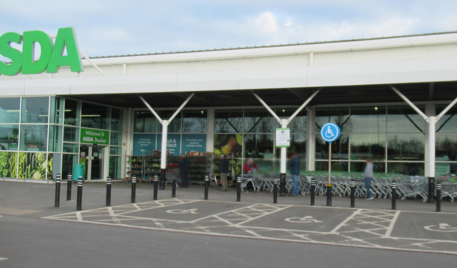 supermarket queue ASda