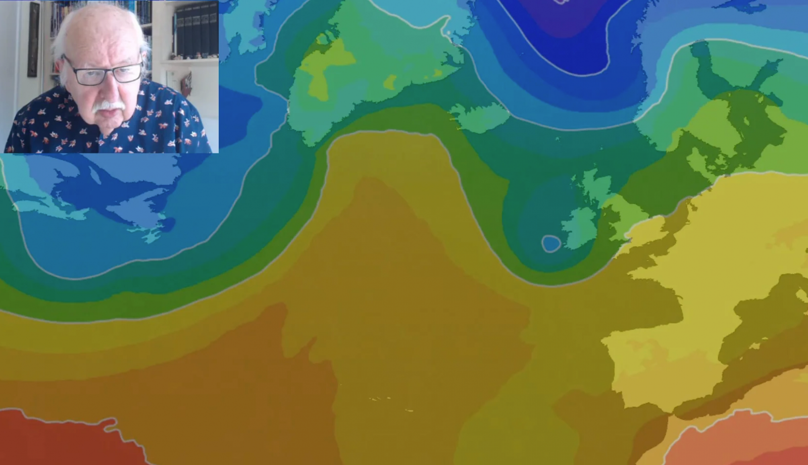 Michael Fish: Easter weekend weather forecast