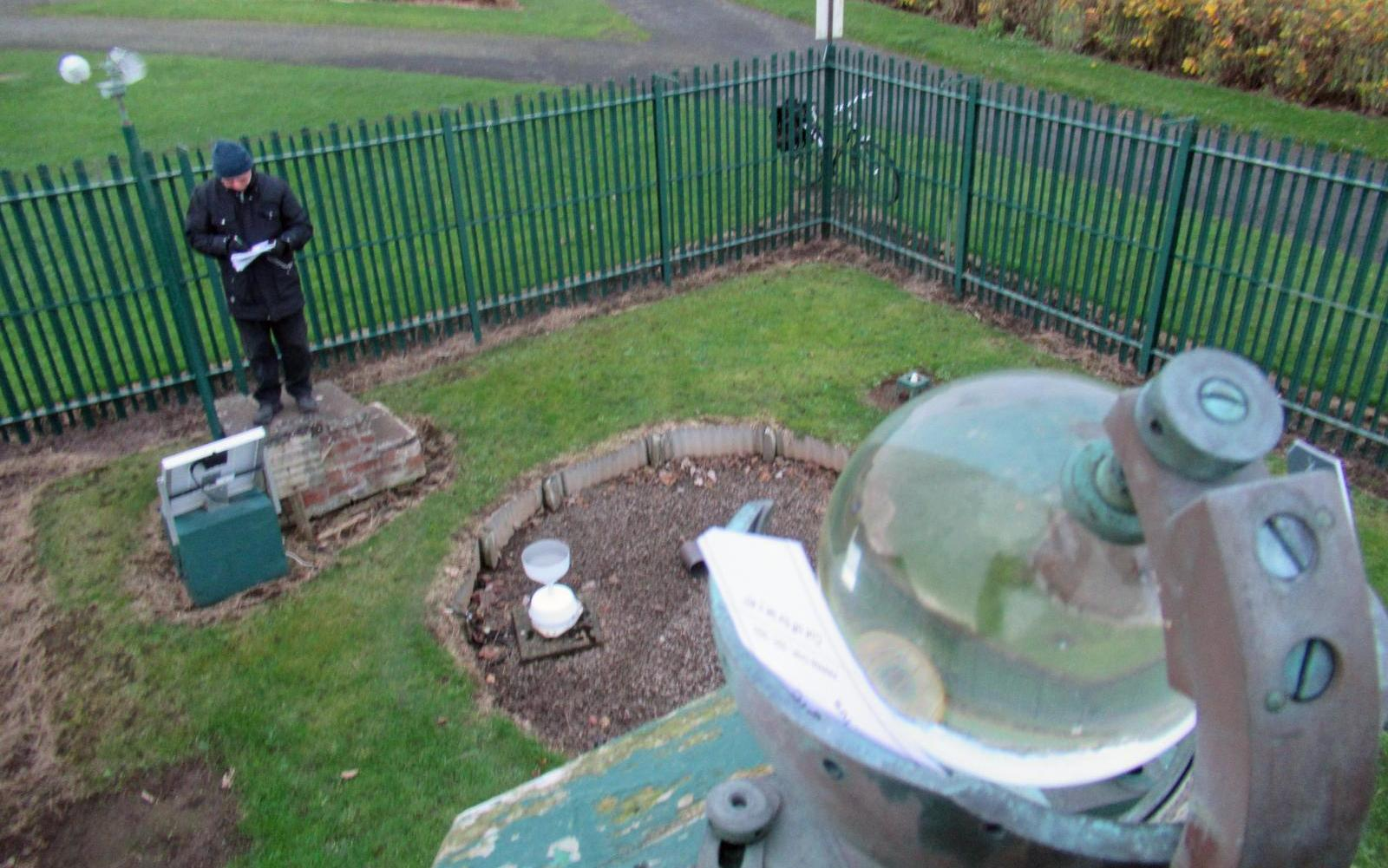 Weather enclosure for daily observations
