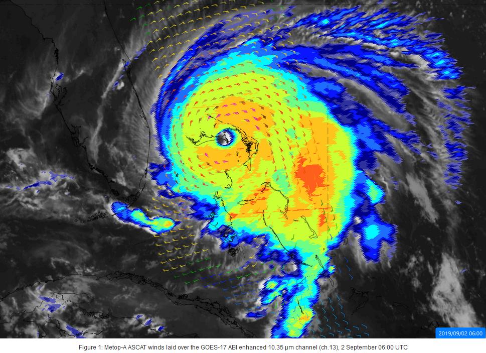 Hurricane dorian 2017