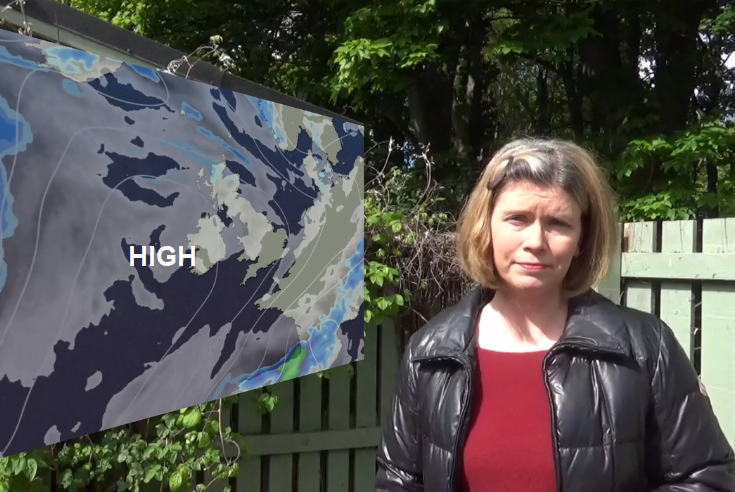 High pressure in May brings mixed messages
