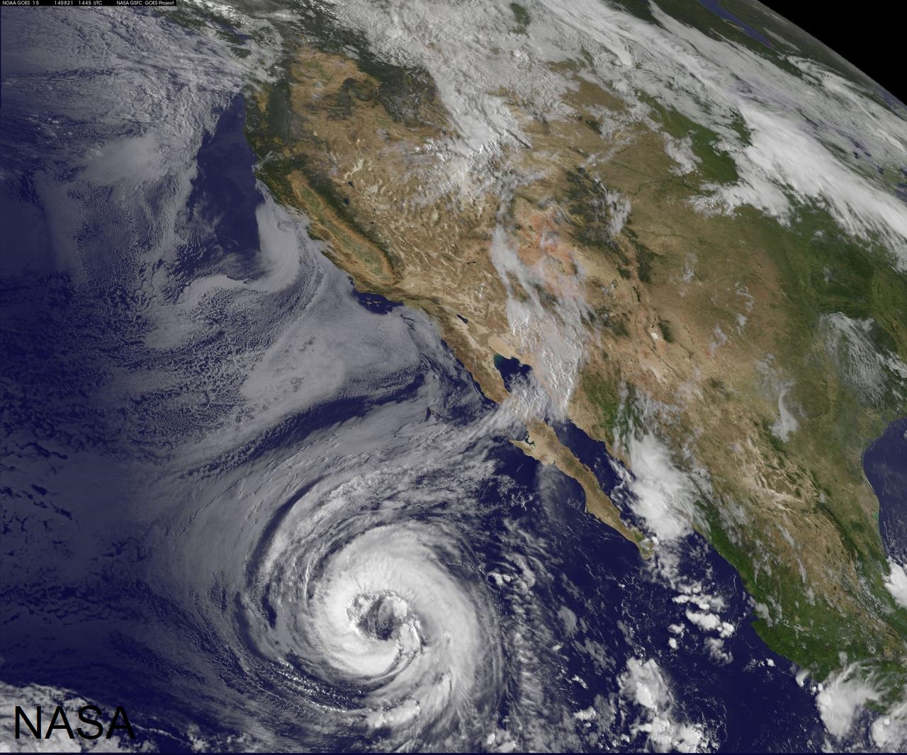 Hurricane Lowell eastern Pacific