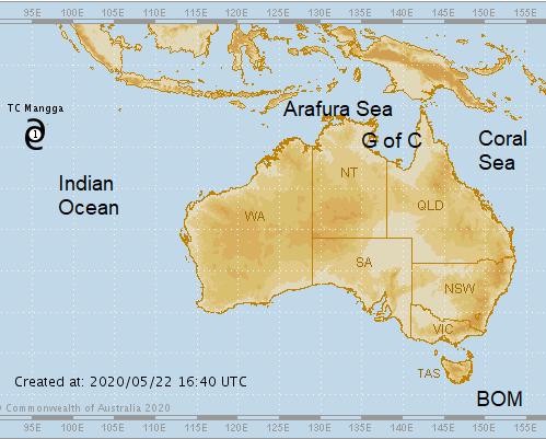 Australian TCWC Perth Brisbane Darwin