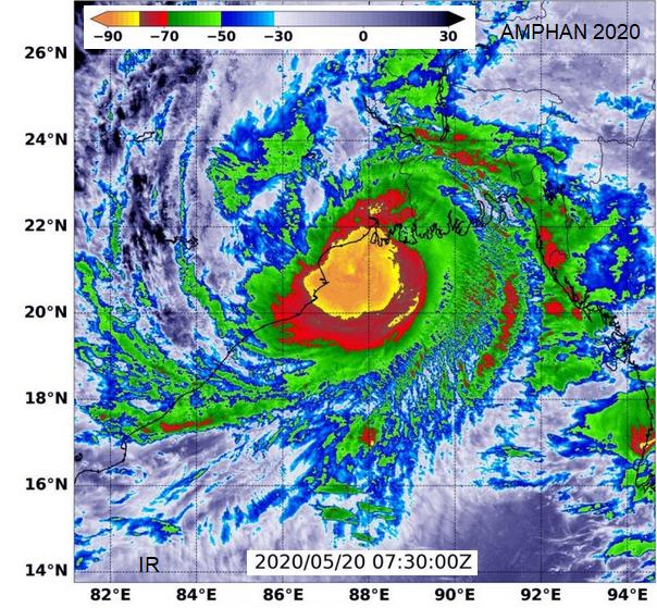 Cyclone Amphan 2020