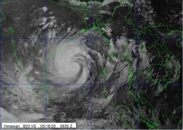 Cyclone Amphan - Super Cyclonic Storm in the Bay of Bengal