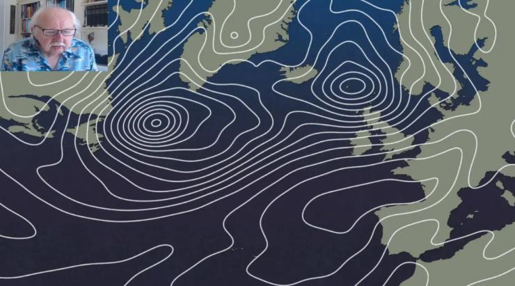 Michael Fish: Wet, windy low replaced by high pressure by the bank holiday