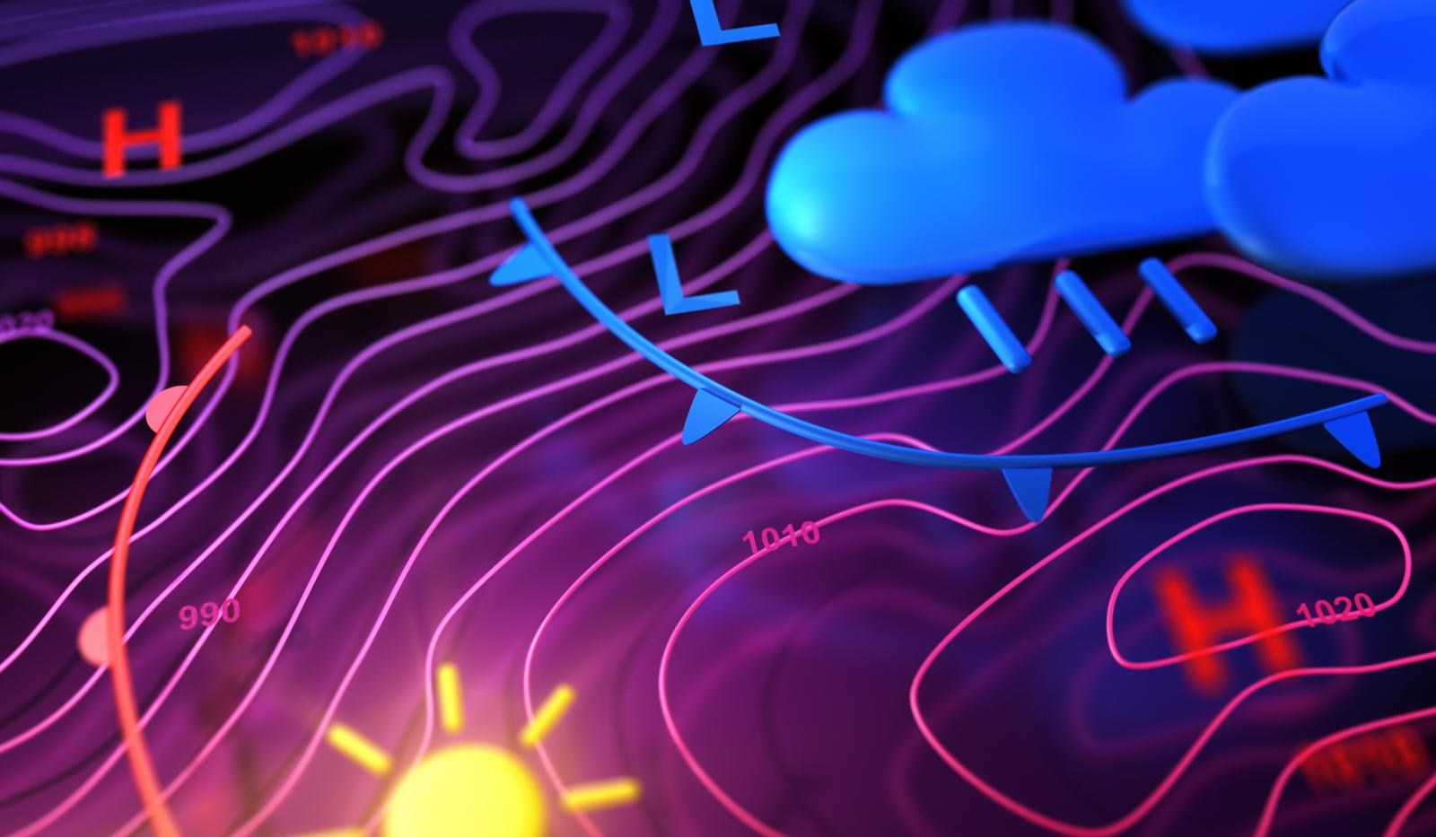 Learn about synoptic weather charts - from Fronts to Isobars