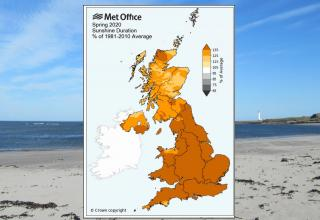Sunniest UK spring on record as drought concerns surface