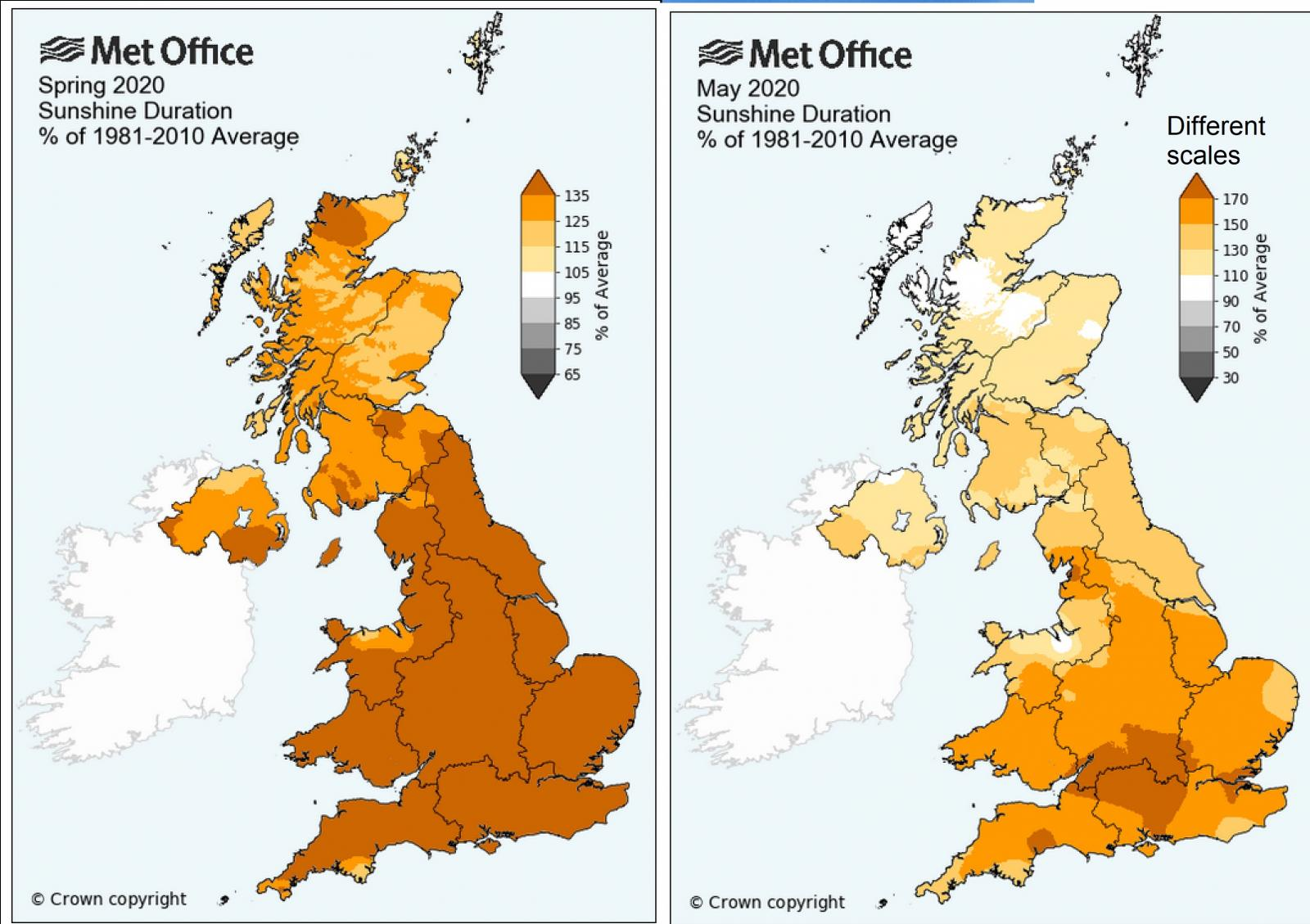 Sunniest UK spring on record and sunniest May