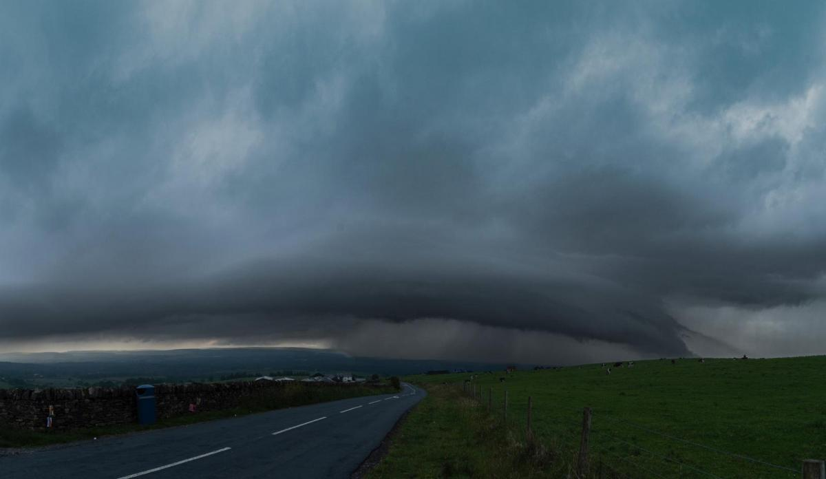 Storm Chasing UK style in a summer without transatlantic flights