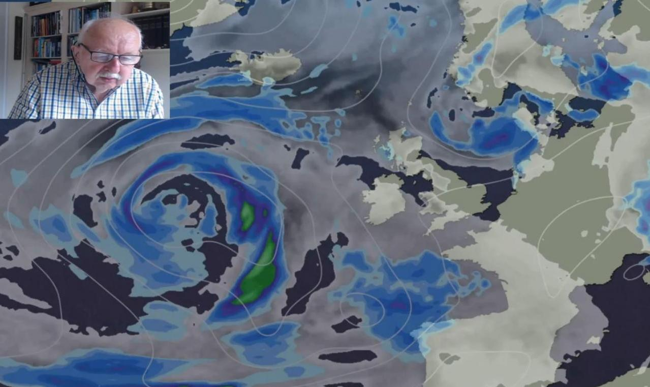 Michael Fish: Goodbye heatwave - Autumnal rain and gales possible later next week