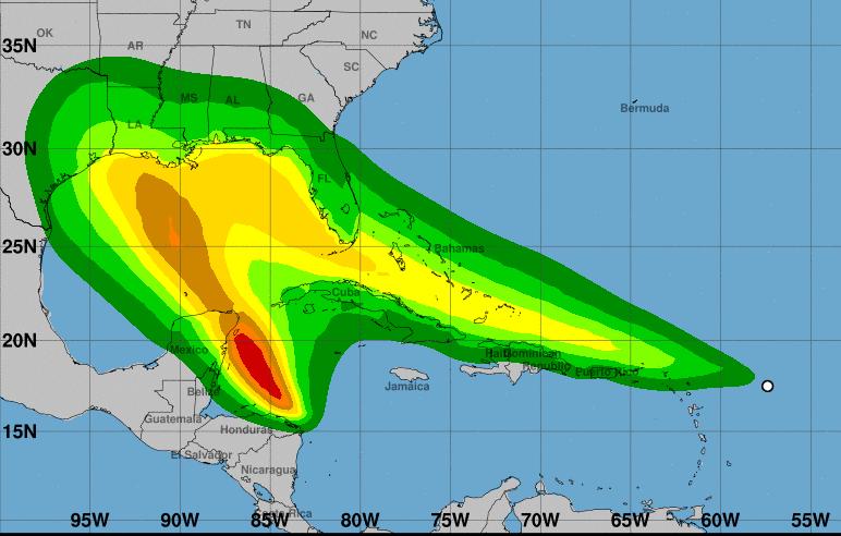 Hurricane season update - Fujiwhara Effect and the trouble with warnings