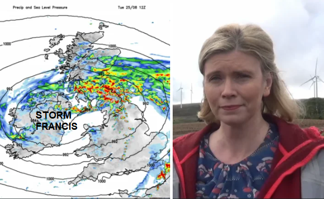 Storm Francis - Gales, gusts and heavy rain