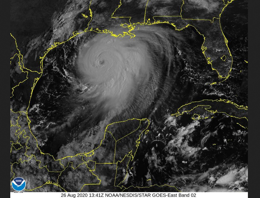 Major Hurricane Laura and the southern United States