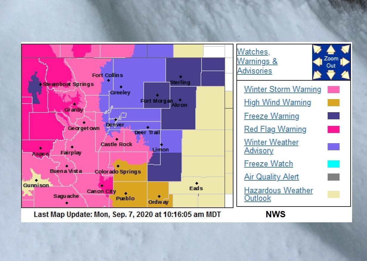 USA winter storm