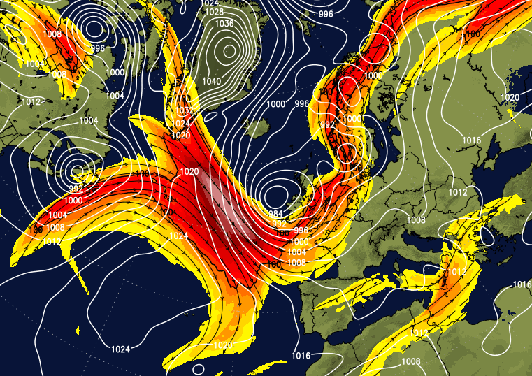 The Jet Stream is coming next week, bringing Autumn with it