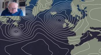 Michael Fish: Strong Jet Stream and deep lows mean a wet, windy week ahead