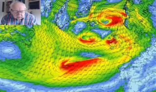 Michael Fish: Wet and windy for now but a change is on the way