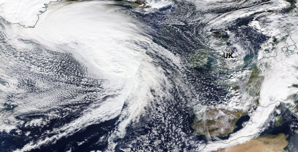 Flood risk this week as Atlantic lows deepen