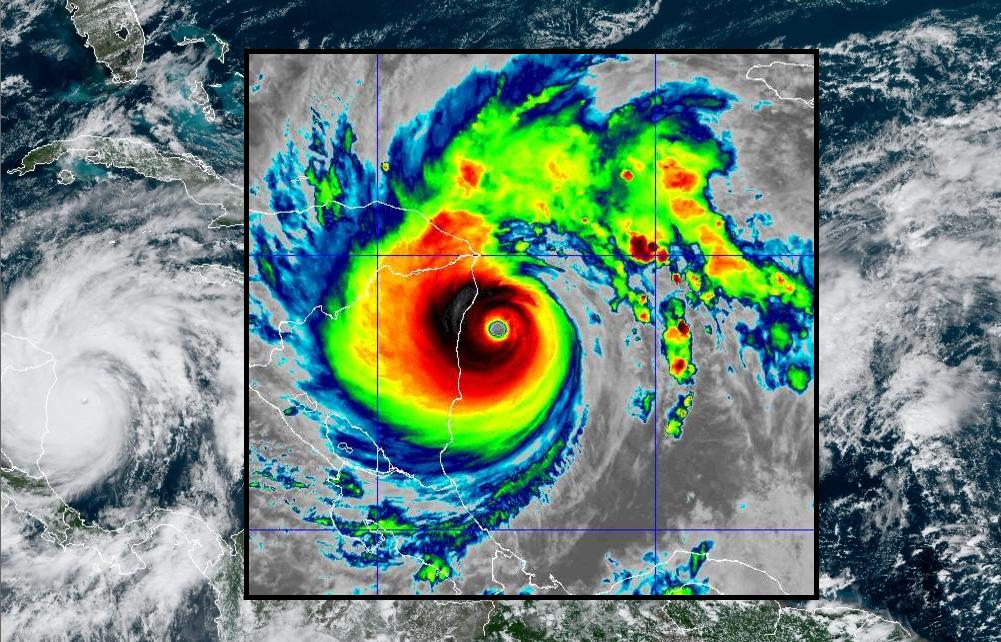 Category 5 Iota follows in hurricane Eta's wake to make landfall over Nicaragua
