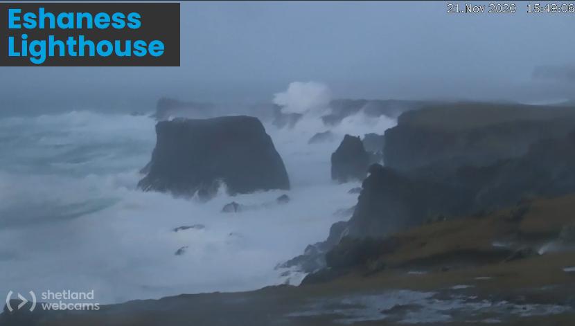 Shetland winds
