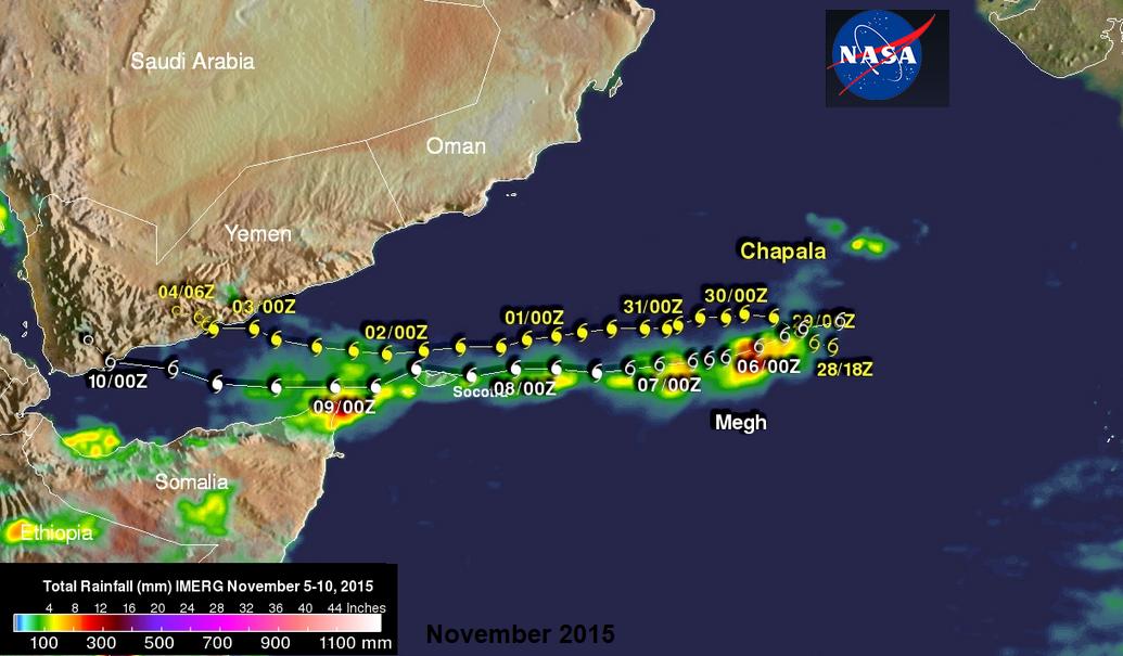 Cyclone Megh Chapala