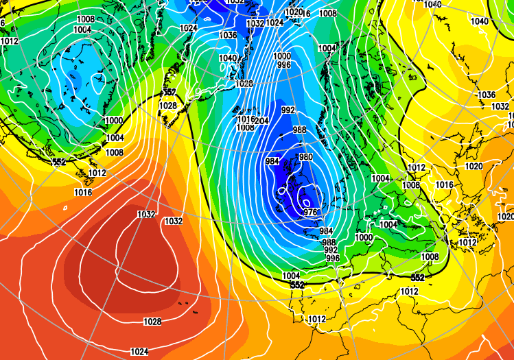 Low pressure returning as Winter arrives