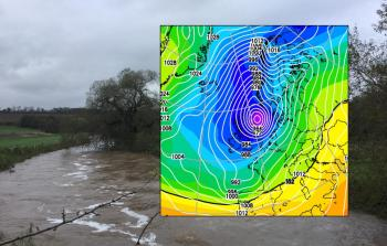 Storm Christoph - Even more rain, January flooding, gales and snow
