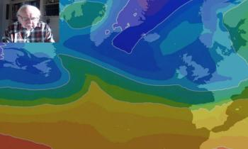 Michael Fish: Wintry weekend but milder and wetter again next week