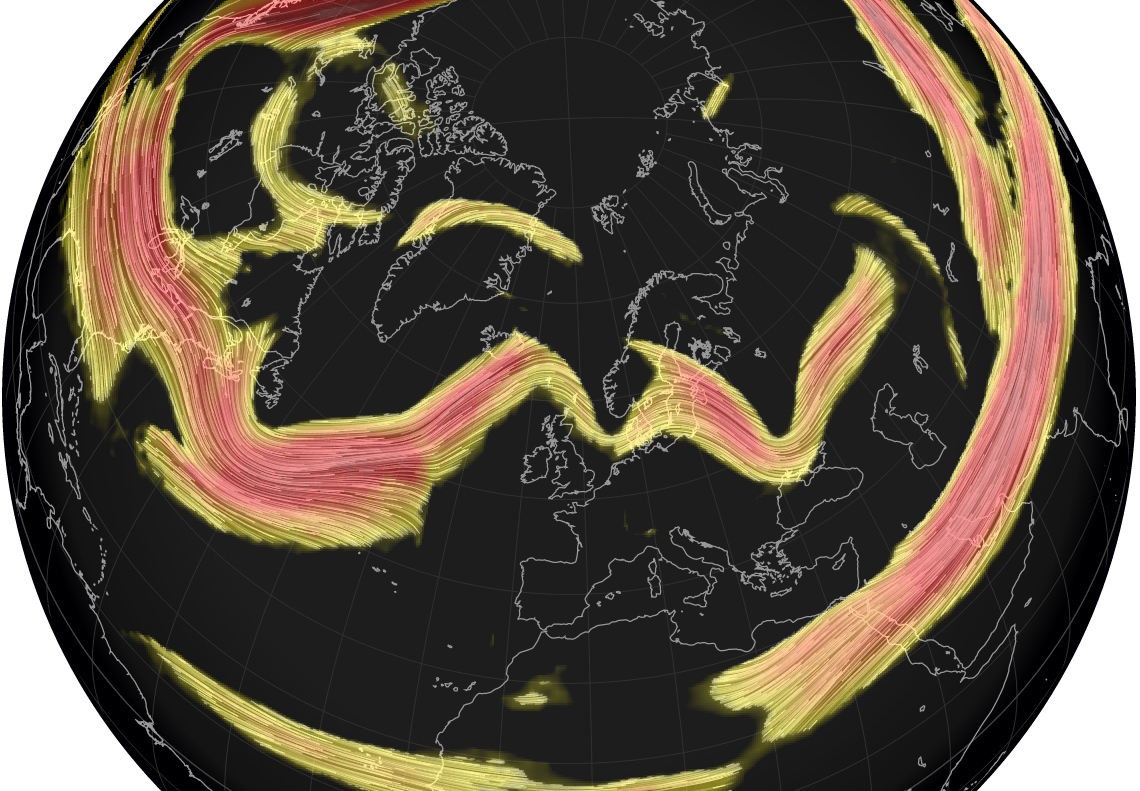 More rain to come but change on the horizon as the Jet Stream heads north