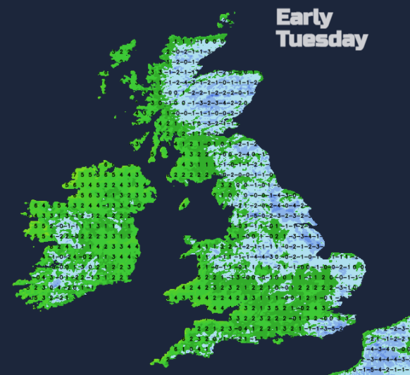 UK frost