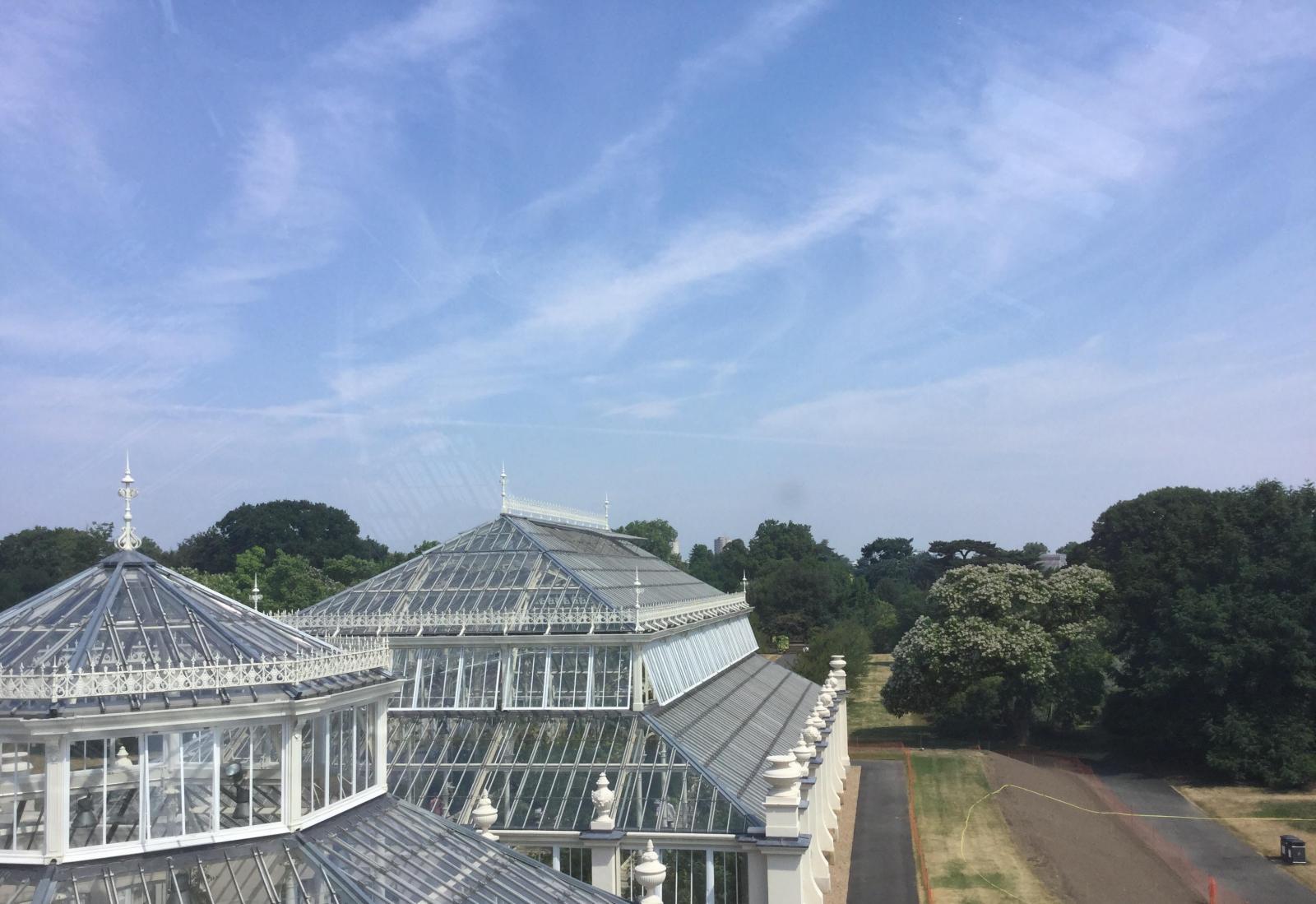 Cirrus clouds Kew London UK