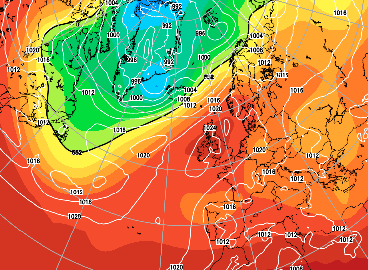 Weather models pointing to a dry and settled June, but no signs of a heatwave yet ...