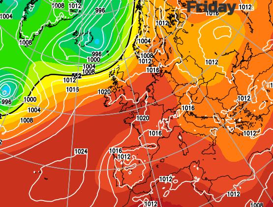 European weather EUROS 2020