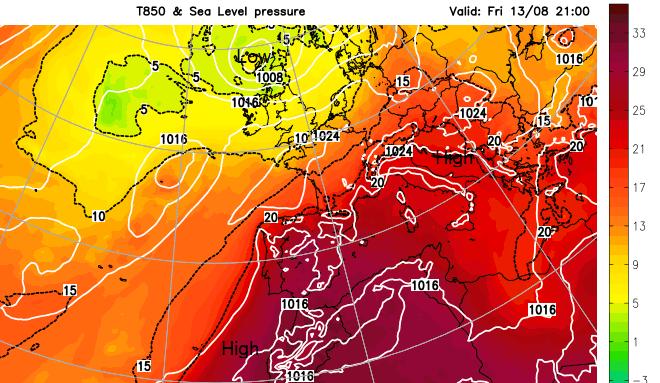 European heat