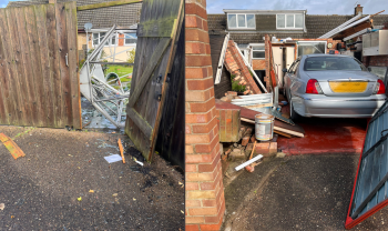 Line convection and suspected Tornado damage for eastern England
