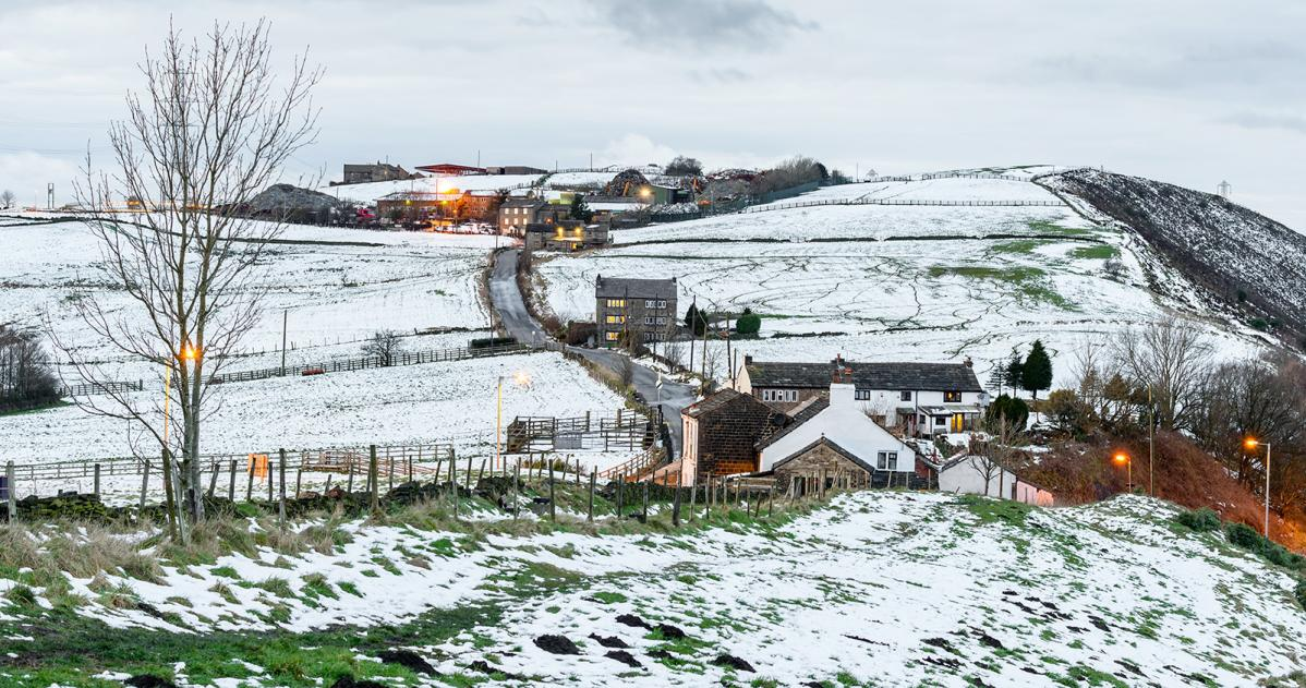 UK Weather: Cold Here To Stay, Some Snow, Mainly Over Hills. Beast From The East Next Week?